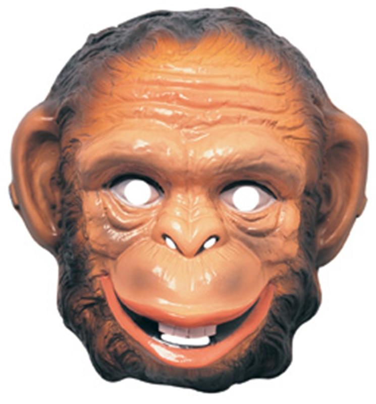 Monkey Plastic Mask
