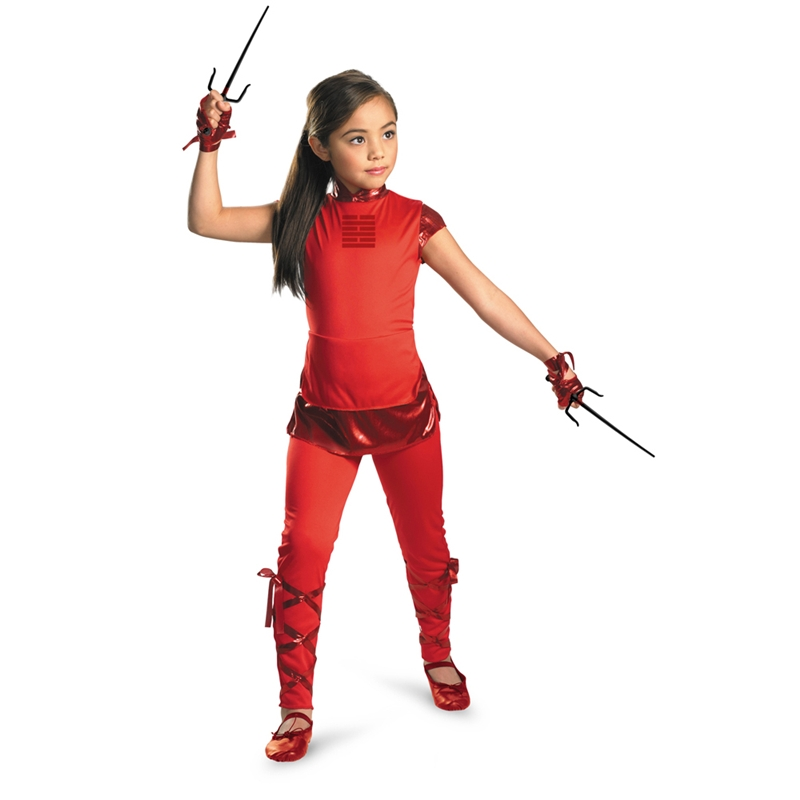 GIJOE Jinx Child Girls Costume