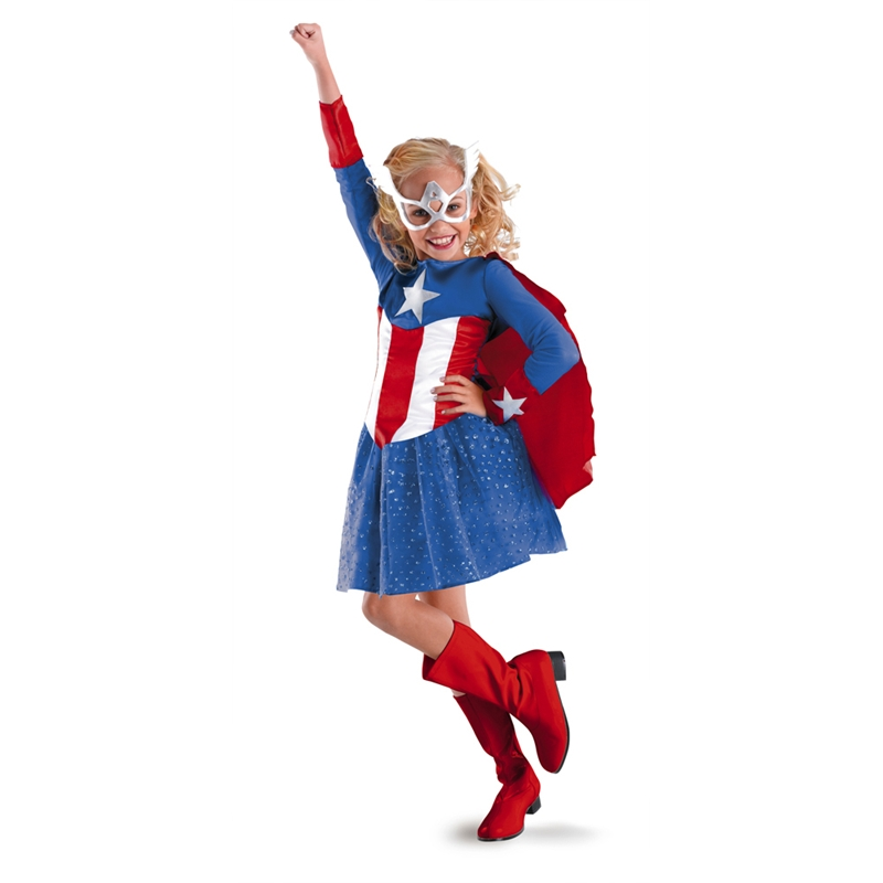 American Dream Girl Classic Child Costume