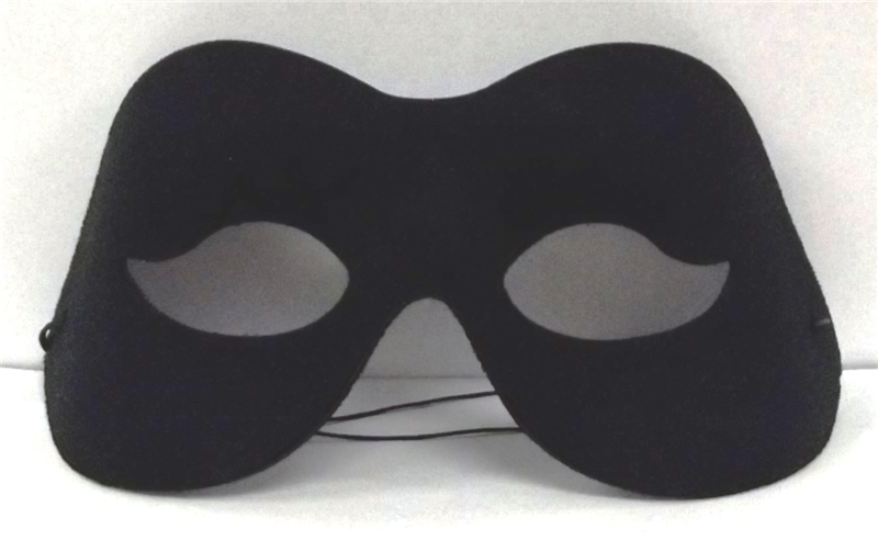 Black Adult Eye Mask