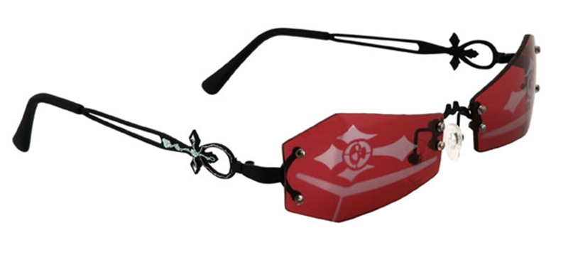 Coffin Red Glasses