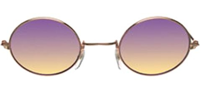 John Lennon Purple Glasses
