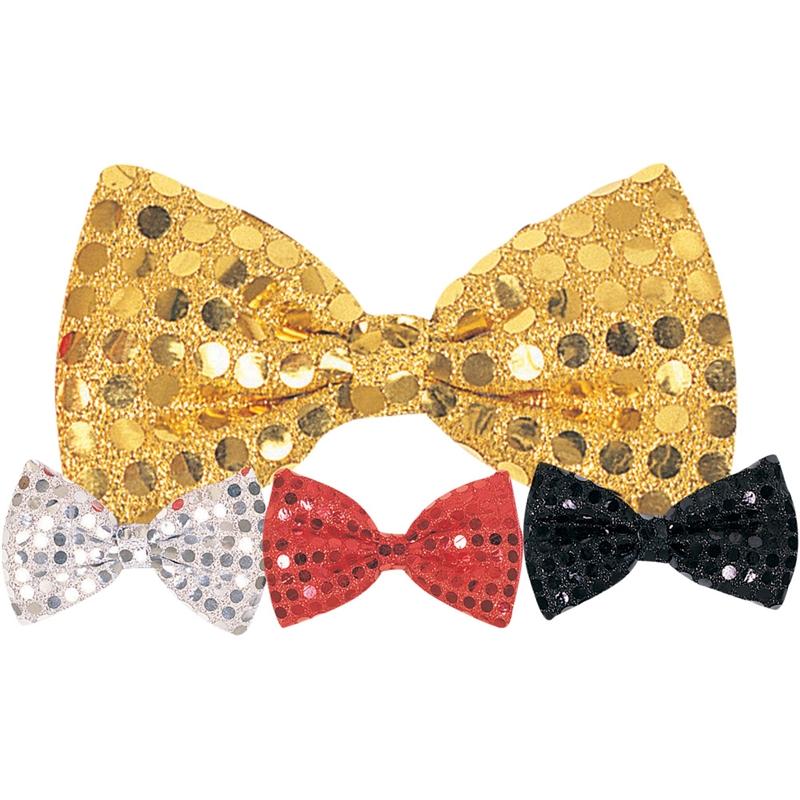 Sequin Dot Bow Tie