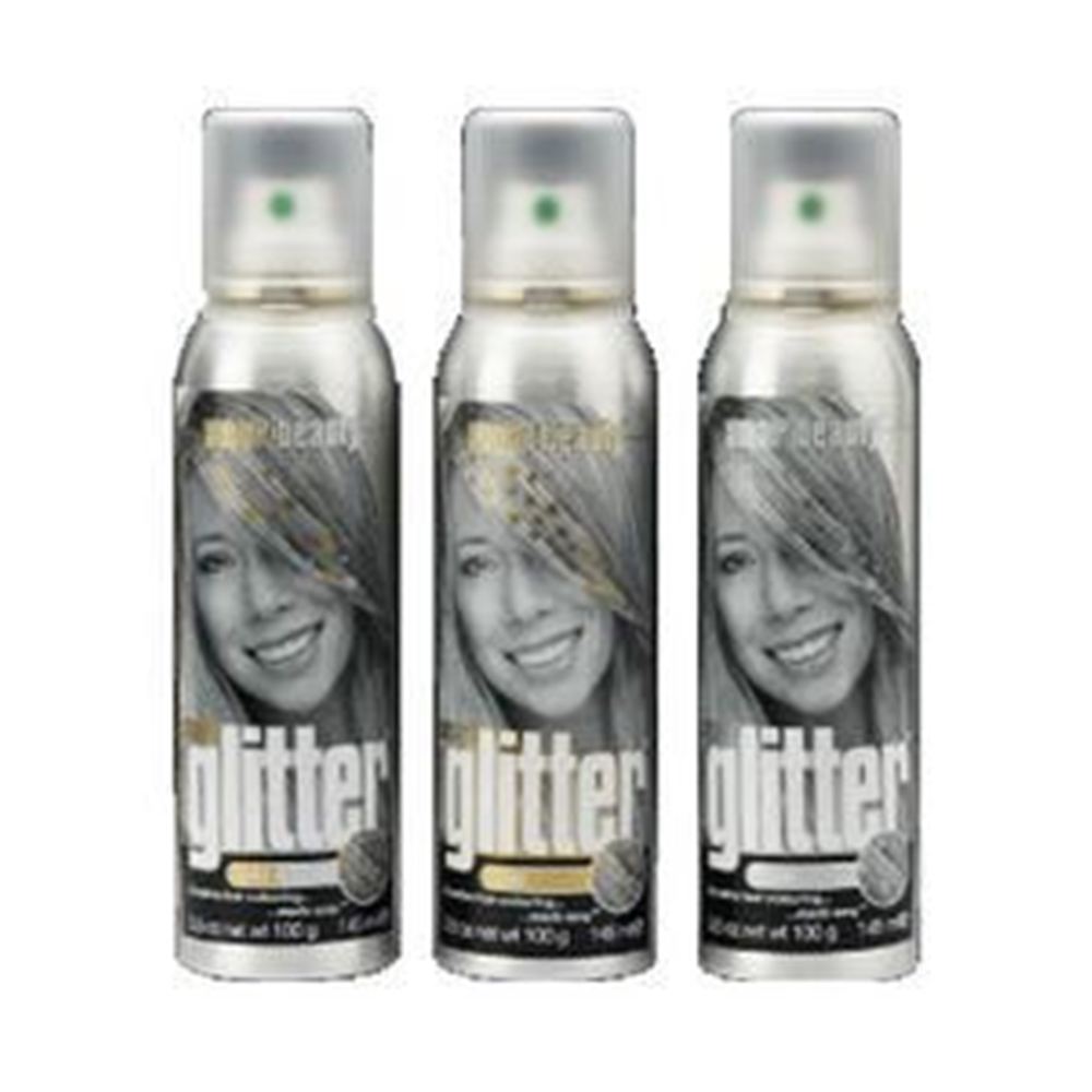 Smart Temporary Silver Hair Color Glitters Spray