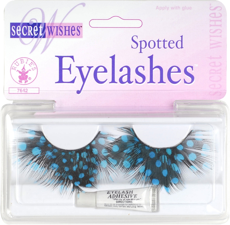 Spotted Eyelashes