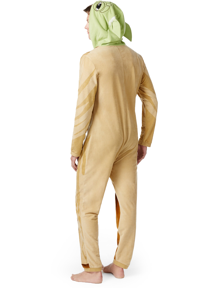 Star Wars Yoda Adult Mens Onesie with Hood - 379877 ... 3bbba3485
