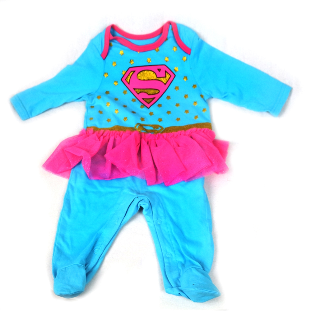 Supergirl Tutu Infant Bodysuit