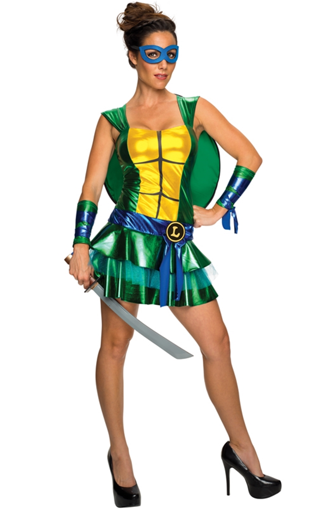 TMNT Leonardo Dress Adult Womens Costume