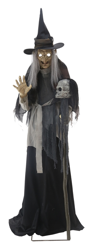 Life-Sized Bathsheba Witch Lunging Animated Prop - 375393 ...