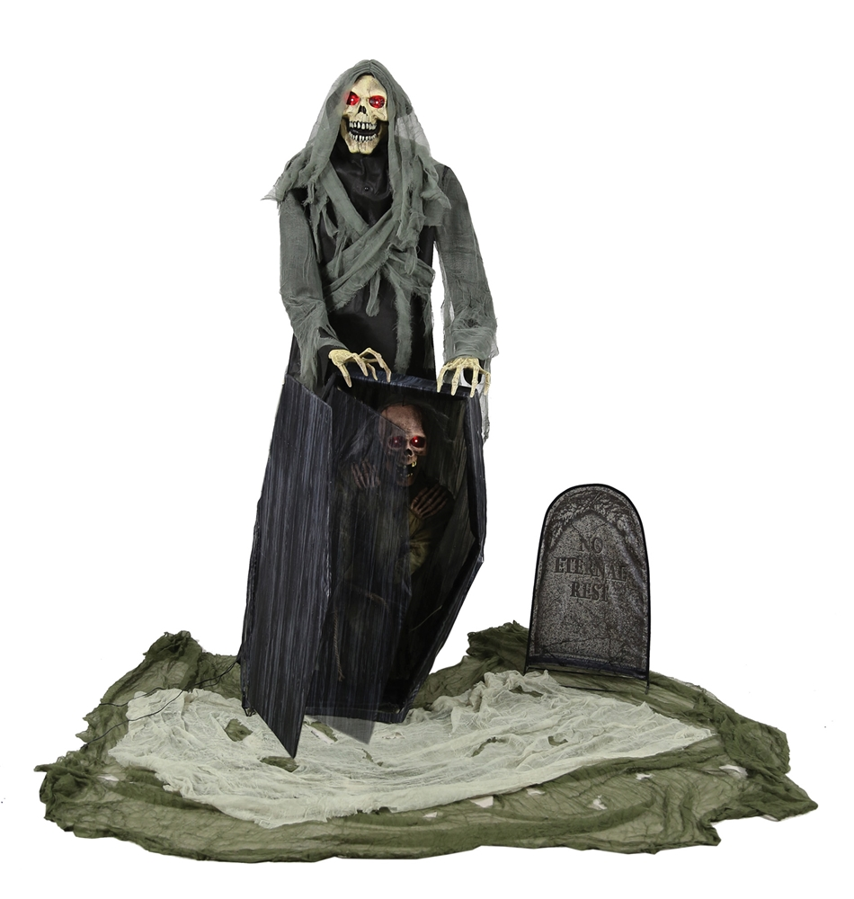 Graveyard Snatching Reaper Animated Prop
