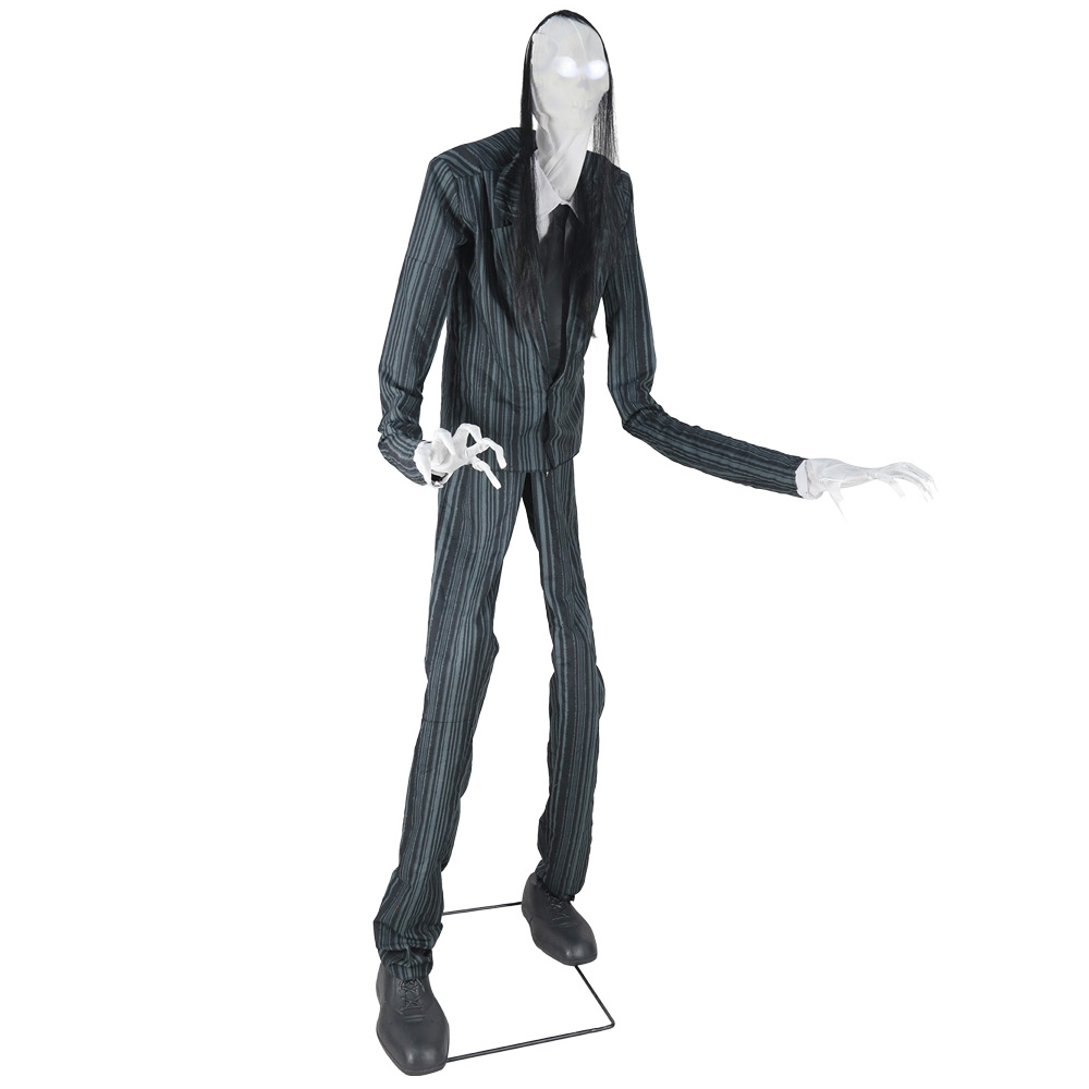 how to make a tall slender man costume