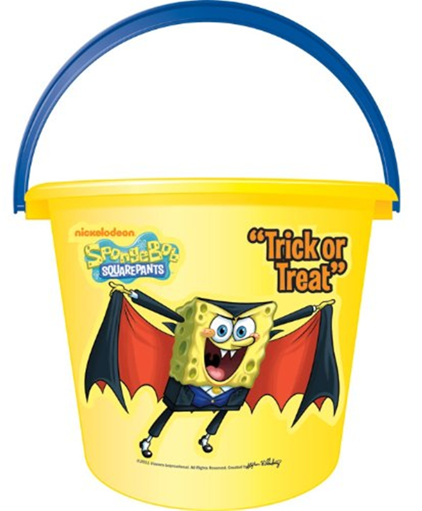 Spongebob Squarepants Trick-or-Treat Pail