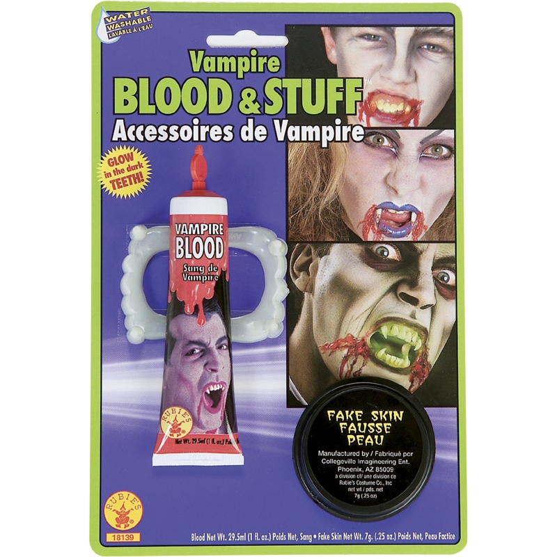 Vampire Blood and Stuff Accessories
