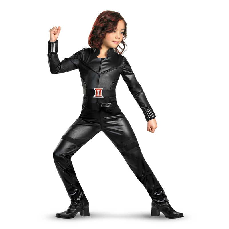 Marvel The Black Widow Avengers Deluxe Child Costume by Disguise