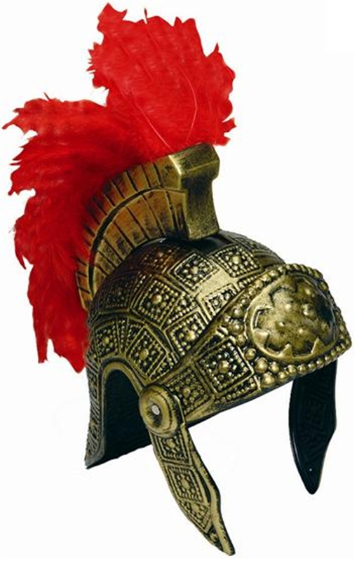 Gold Roman Adult Helmet
