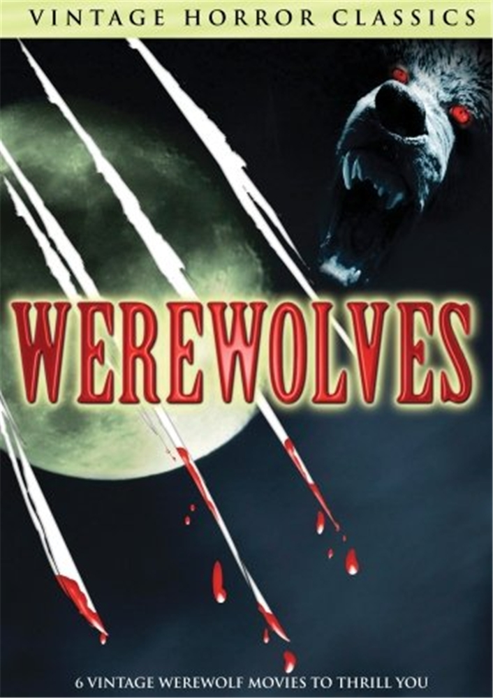 Vintage Horror Classics Werewolves2 Dvd Set 89321