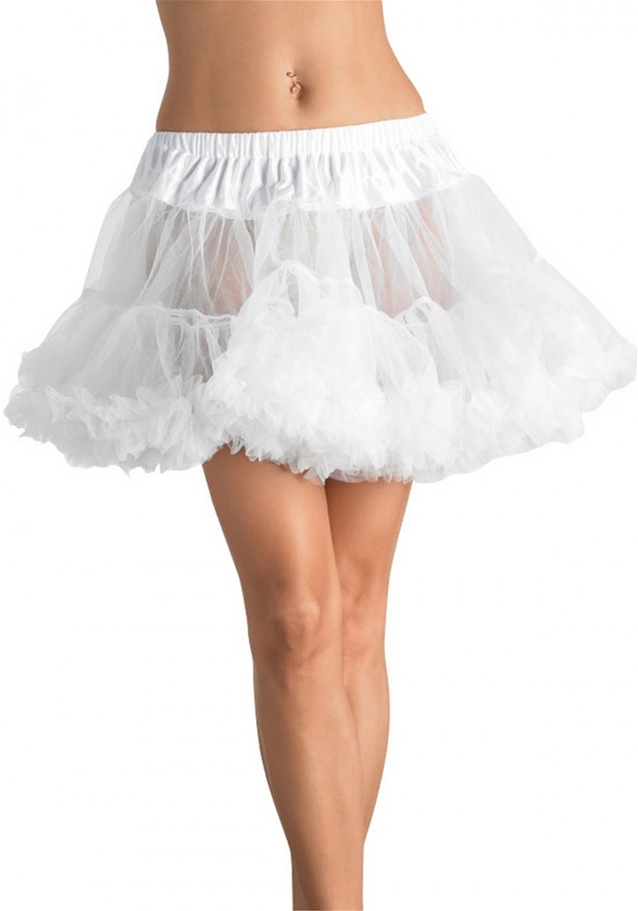 Layered Plus Size Tulle Petticoat (Assorted Colors)