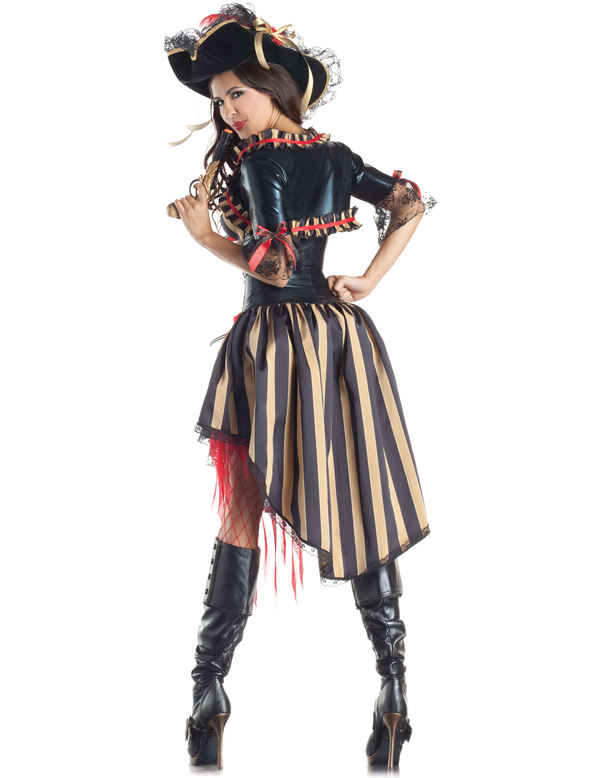 sc 1 st  Trendy Halloween & Pirate Body Shaper Adult Womens Costume