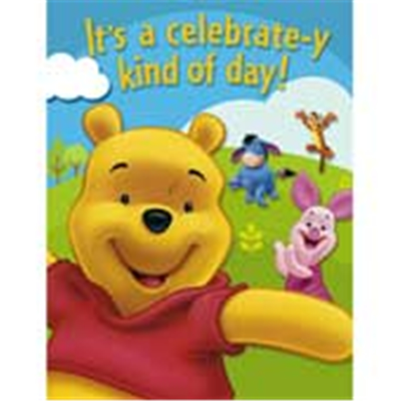 Pooh and Friends Invitation