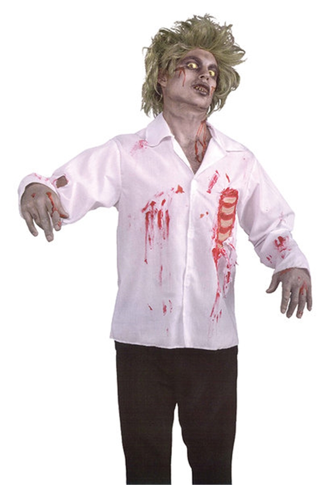Zombie Shirt with Chest Wound