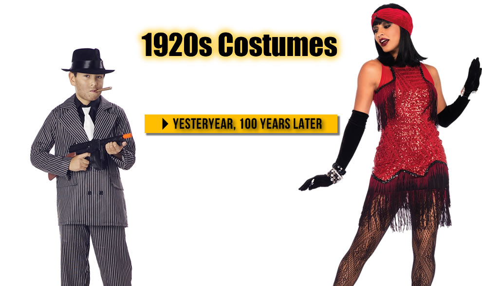 1920s costumes 100 years later for 2020 Trendyhalloween.com