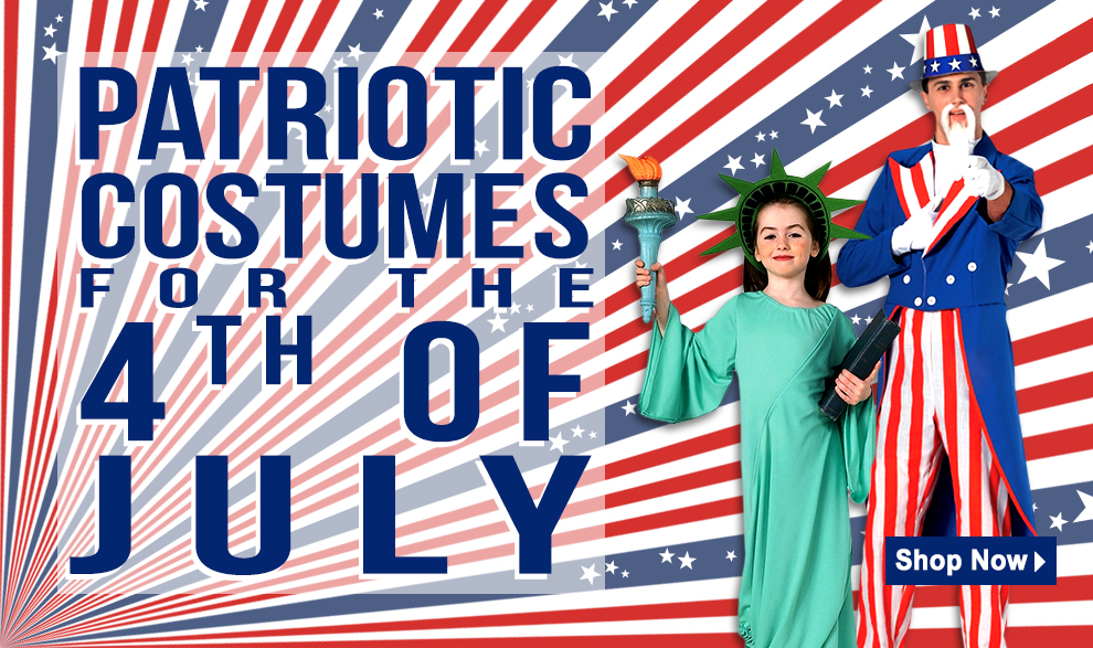 4th of July Costumes and Accessories via Trendyhalloween.com