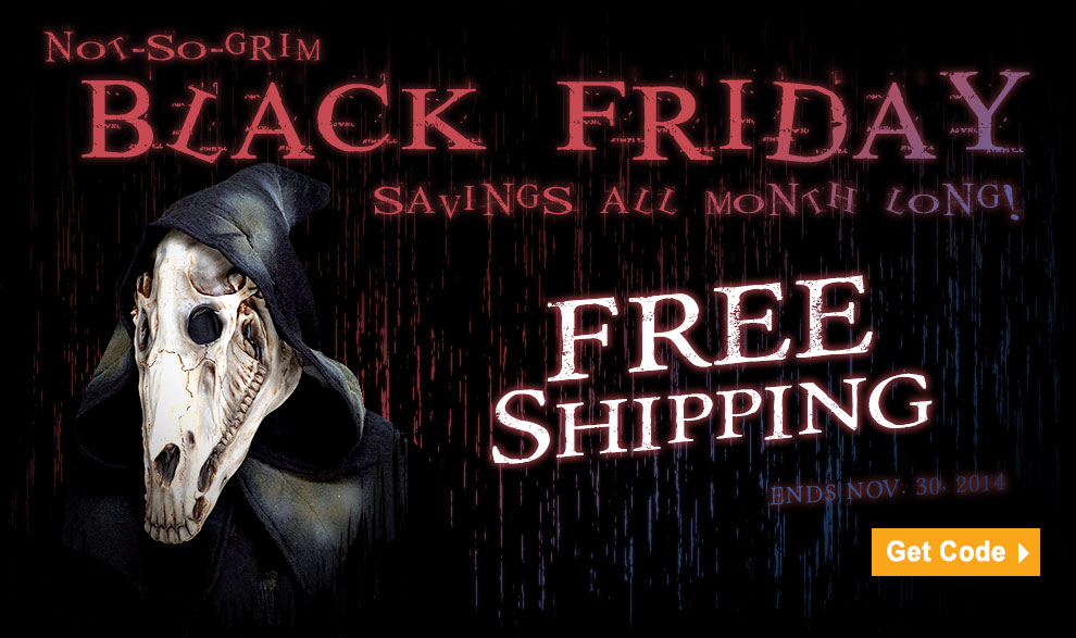 Black Friday Savings at Trendyhalloween.com