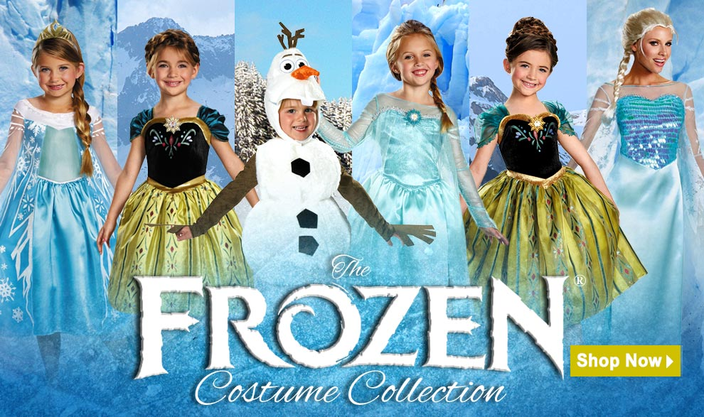 Frozen Costumes and Accessories at Trendyhalloween.com
