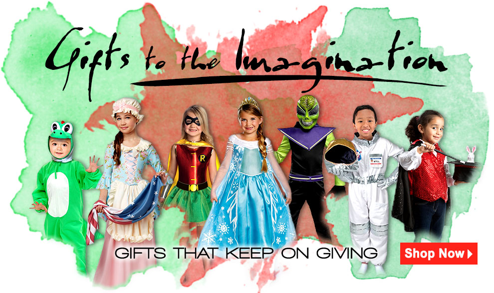 Gifts to the Imagination: Costumes for Kids via Trendyhalloween.com