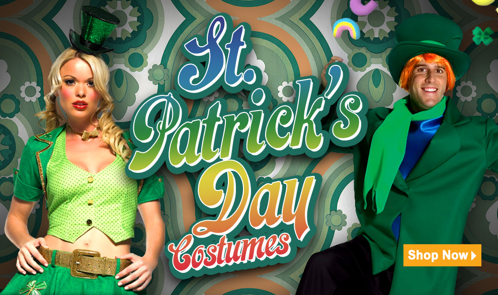 St. Patrick's Day Costumes via Trendyhalloween.com