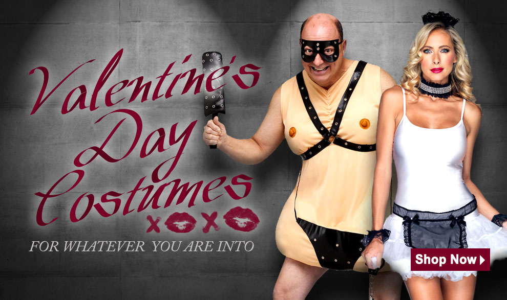 Valentine's Day Costumes and Accessories via Trendyhalloween.com
