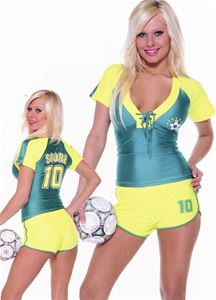 Sexy Soccer Player Adult Womens Costume 148263