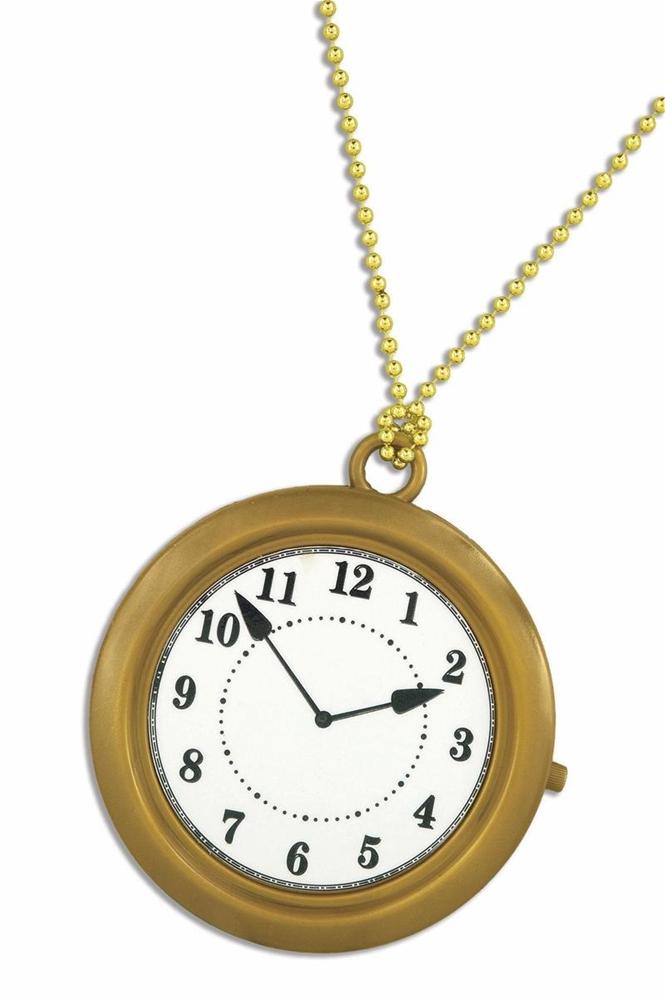Rapper Big Clock Necklace 330243 Trendyhalloween Com