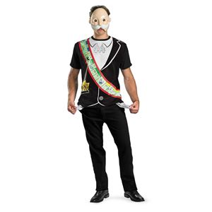 monopoly man t shirt with mask adult costume 249355 halloween costume trendyhalloweencom