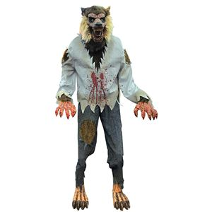 life sized lurching cursed werewolf animated prop 328676 trendyhalloweencom