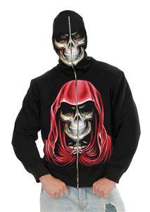 Evil Reaper Skull Hoodie