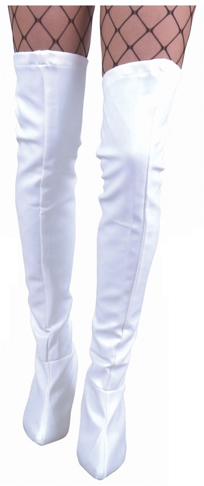 thigh high vinyl boot covers more colors