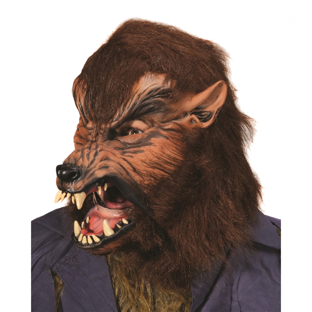 homemade Blutbad Costume - Howl-O-Ween Wolf Mask