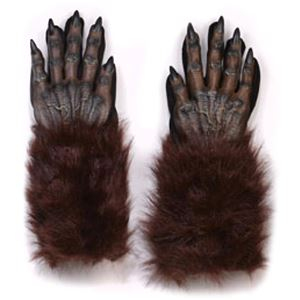 Brown Werewolf Hand Gloves