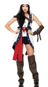 Assassin's Creed Connor Girl Adult Womens Costume
