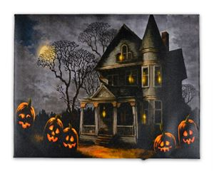 Haunted House Amp Pumpkin Led Picture 338197