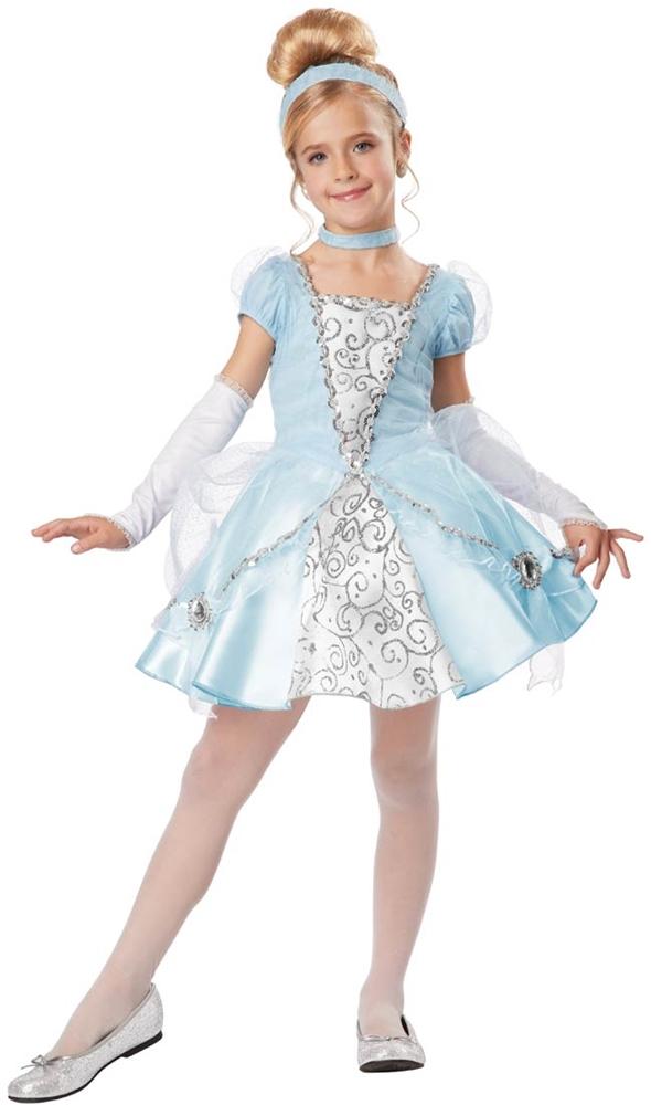 Deluxe Cinderella Child Costume