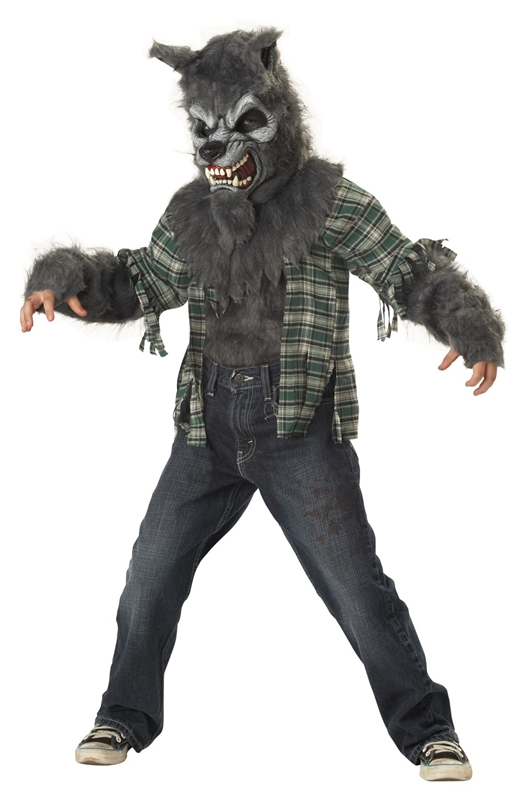 Child's Werewolf Costume