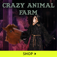 Crazy Animal Farm Haunt Decorations via Trendy Halloween