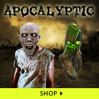 Apocalyptic Haunt Decorations via Trendy Halloween