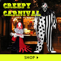 Creepy Carnival Haunt Decorations via Trendy Halloween