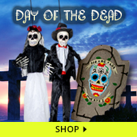 Day of the Dead Haunt Decorations via Trendy Halloween