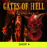 Gates of Hell Haunt Decorations via Trendy Halloween