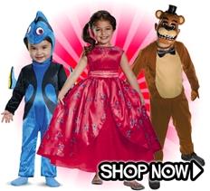 NEW 2016 Kids Halloween Costumes
