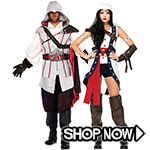Assassins Creed Couple Costumes
